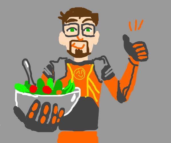 gordan freeman recommends salad