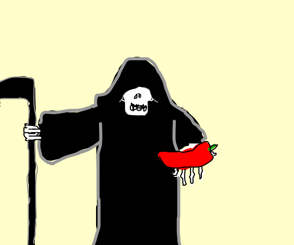grim reaper offers you chili