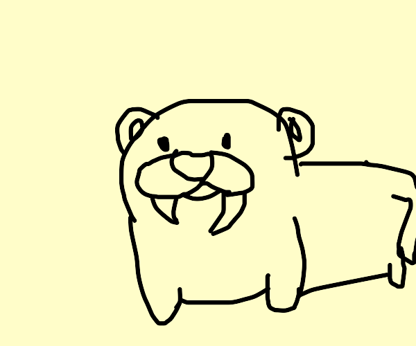 Baby Saber-toothed Cat
