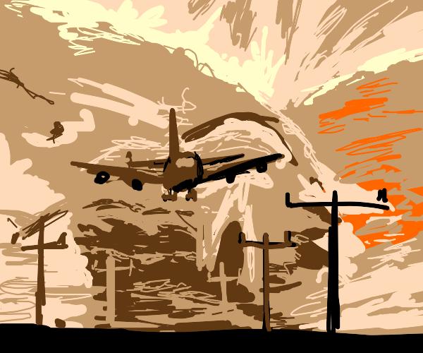 Pilot in a Dust Storm