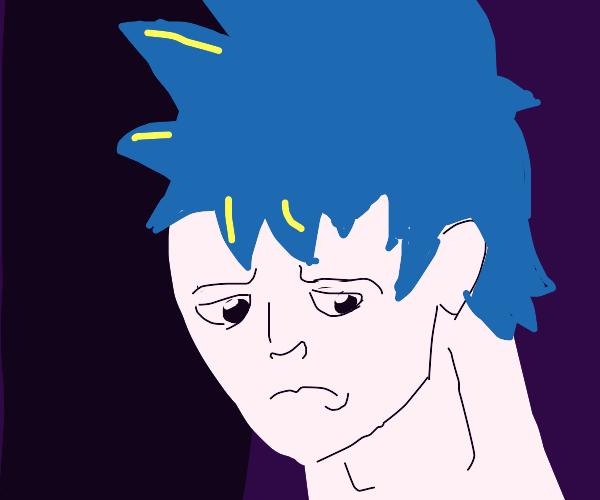 animé guy feeling dead inside