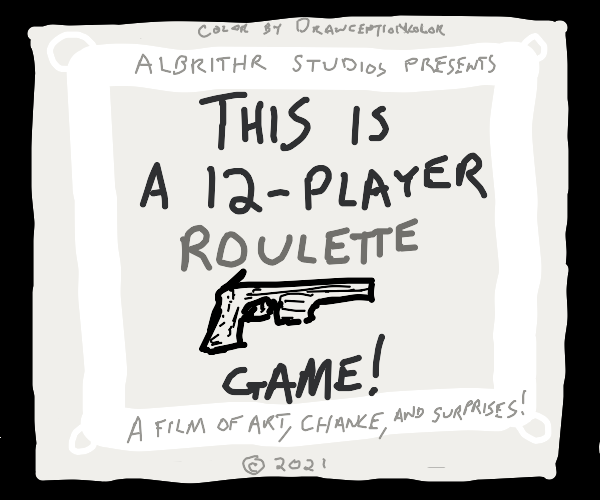 a movie about a 16 player russion rullet game