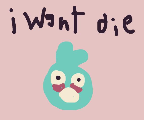 Angry Birds (Big blue love bird)