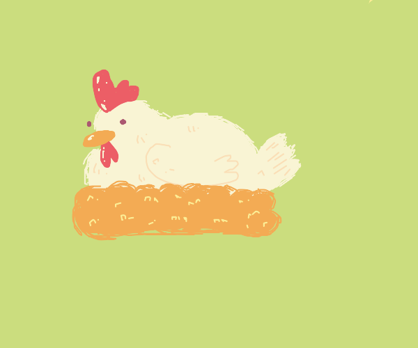 9, 10 a big fat hen!