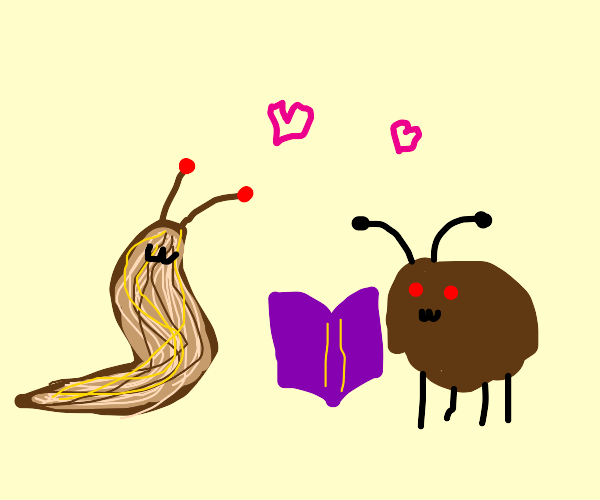 Bedbug writing to Slug