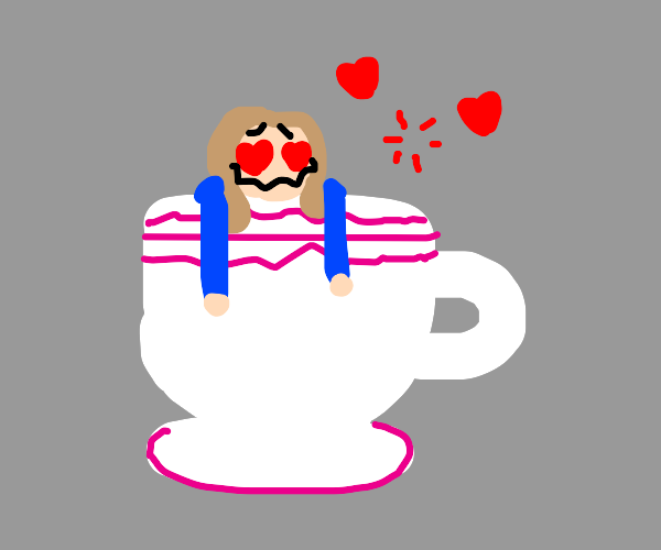 Lovestruck in a teacup