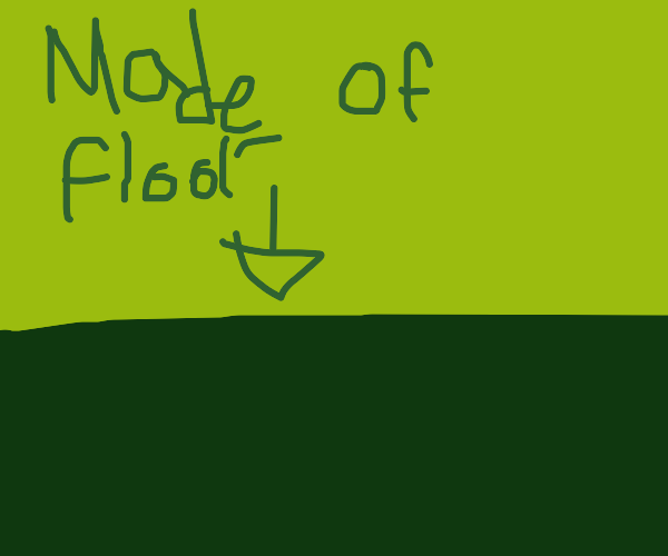 Hmmm the floor is made of floor