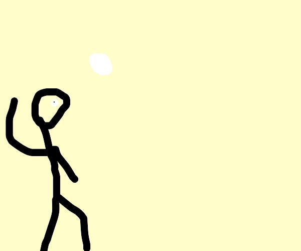 tossin' snowball