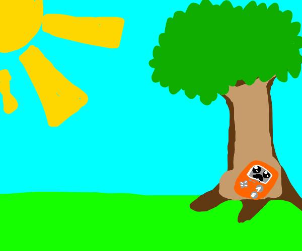Sad nintendo sitting in a tree