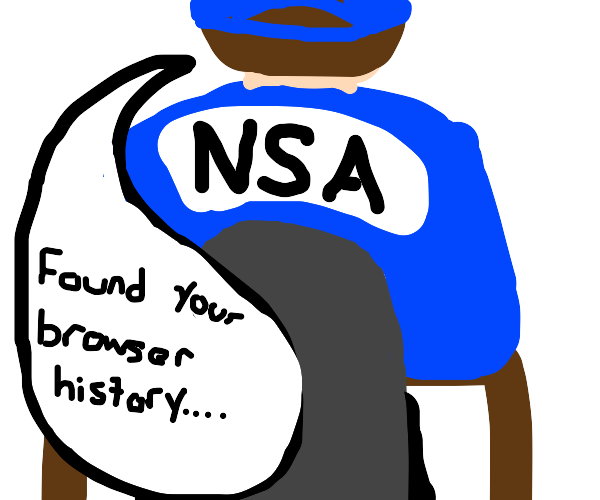 The NSA found my browser history
