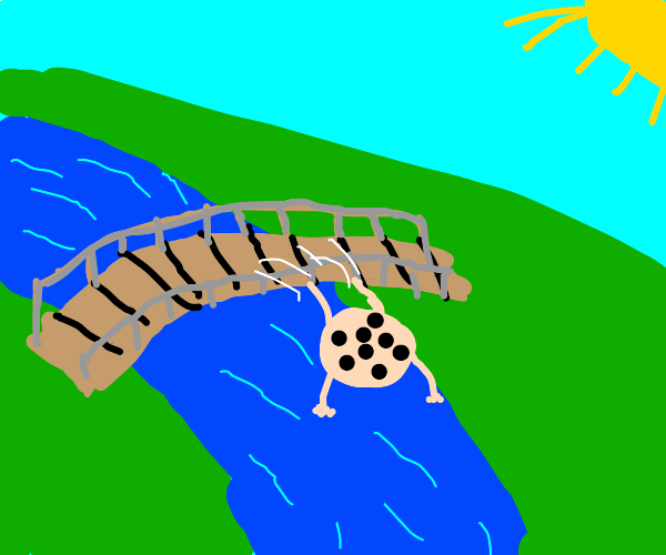 A Cookie jumping over a Bridge