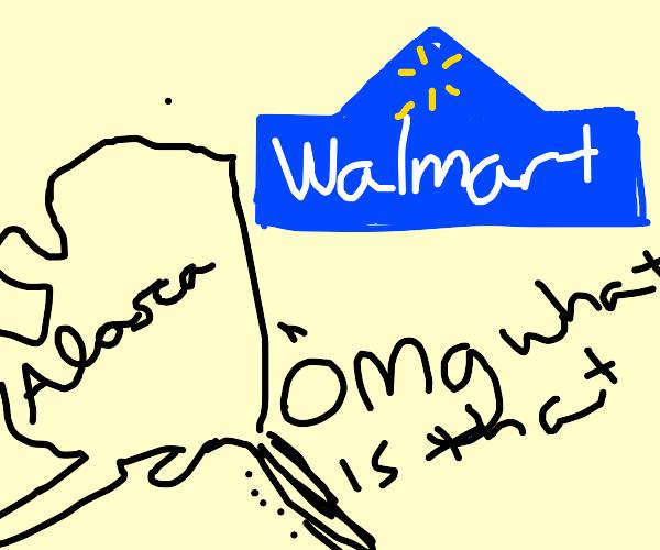 Alaska is surprised by Walmart