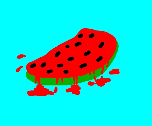 Melting watermelon runs
