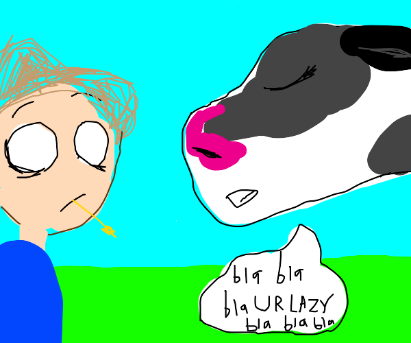 Cow Lecturing