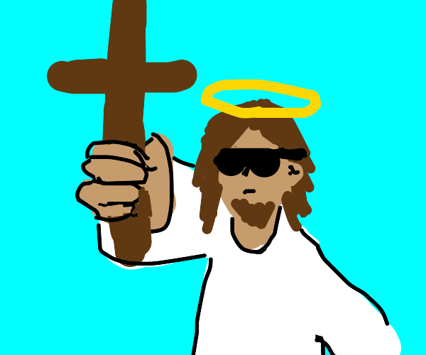 Jesus Christ giving you a cross