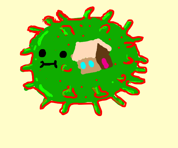 Covid-19 infects houses