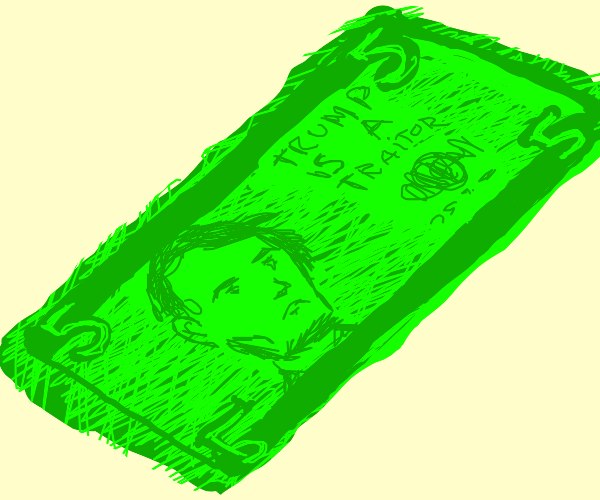 5 dollar bill rug