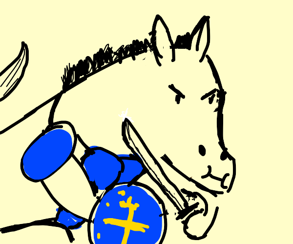 Good equipped Horse