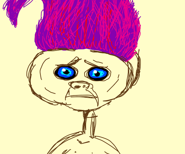 E.T x purple haired guy