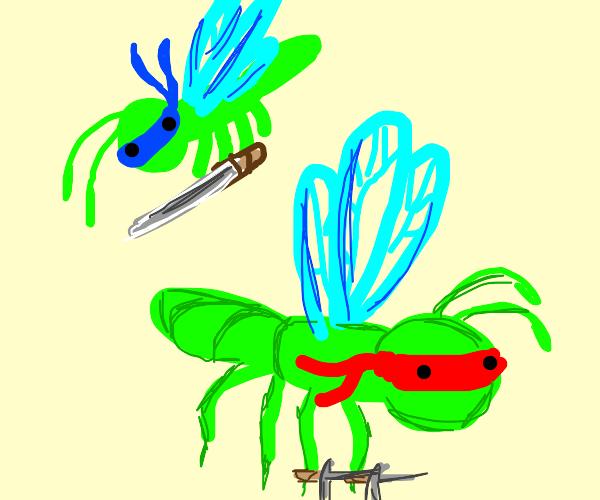 teenage mutant ninja dragonfly