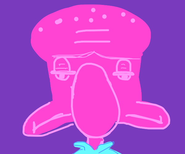 Pink Squidward