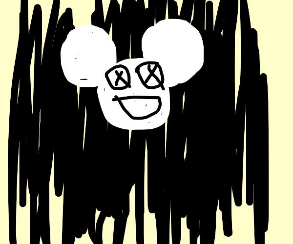 Deadmau5 in Black and White