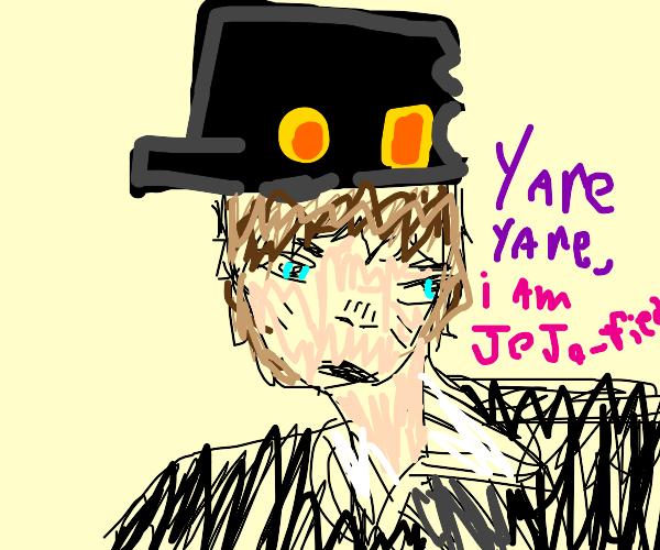 Jojo'fied person