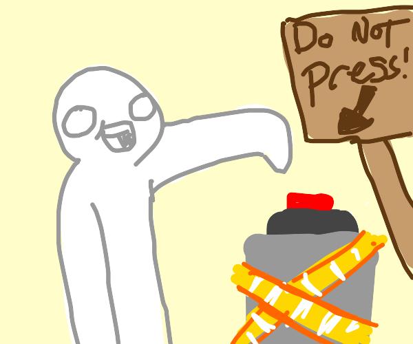 forbiden button