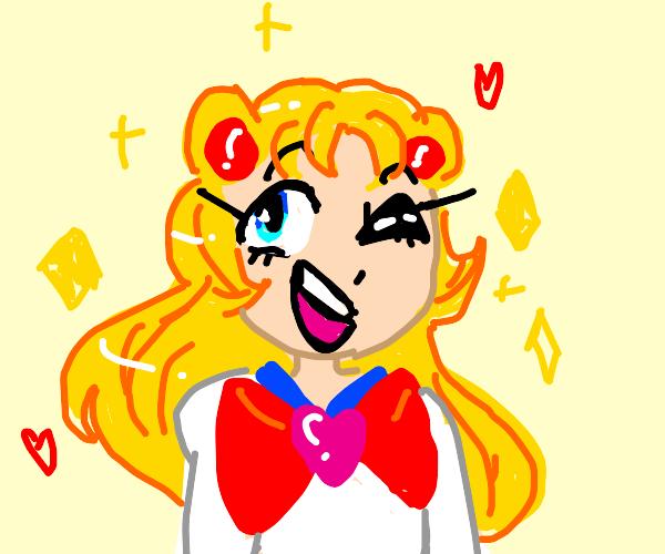 Sailor Moon got a new hairdo