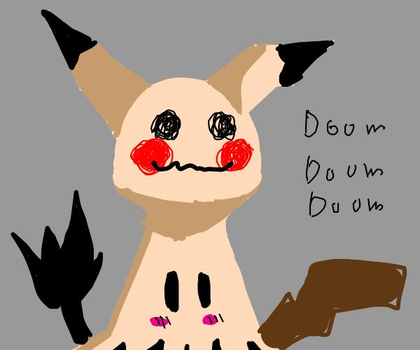 mimikyu ripoff says doom repeatedly