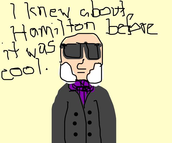 Hipster John Quincy Adams