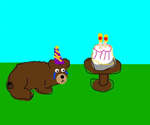 No one came at bears birthday party