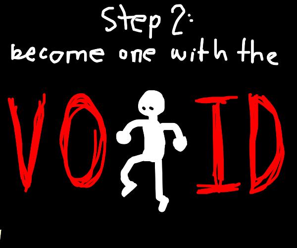 step 1: panic