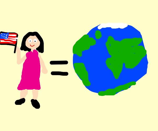 American Girl is the Earth