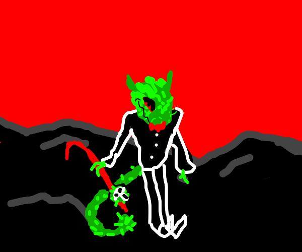 Coronavirus Demon