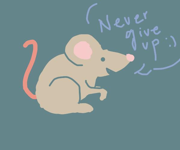 a motivational mouse
