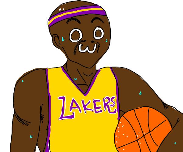 Basketball player w/ headband   (owo)