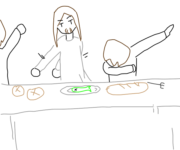 THE LAST SUPPER BUT AWESOME