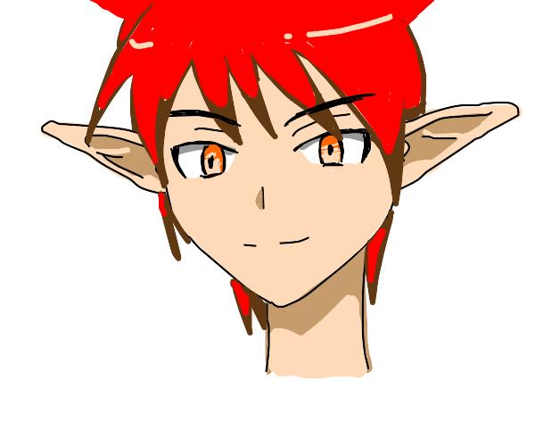 Akabane(karma?) but it's an elf cat