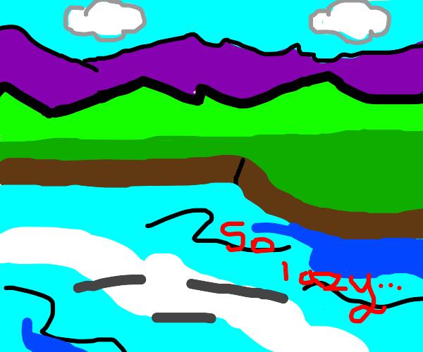 Lazy Lake