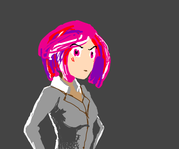 natsuki is confused