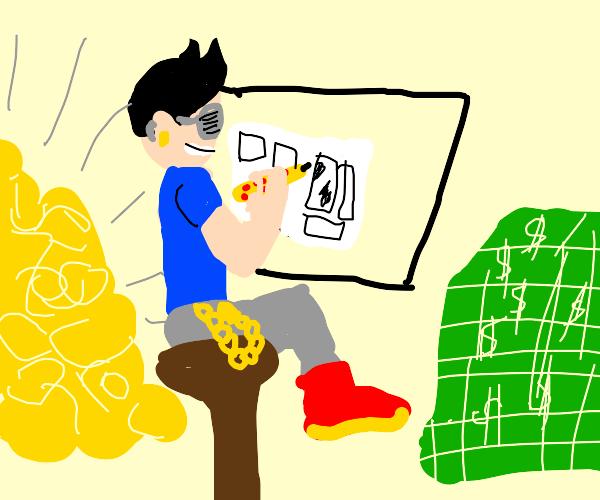 Gaudy Illustrator