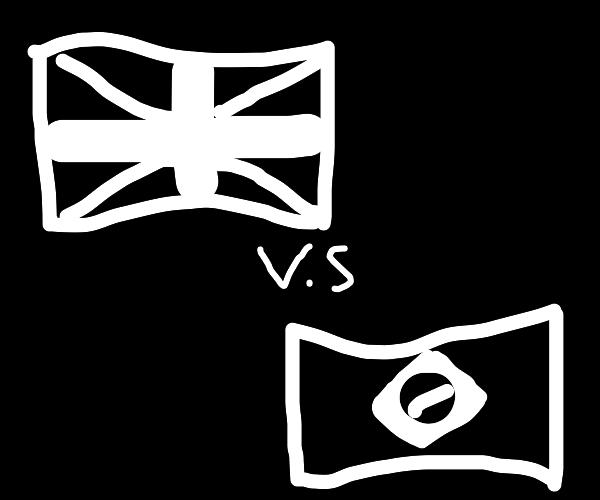 Brazil vs. UK
