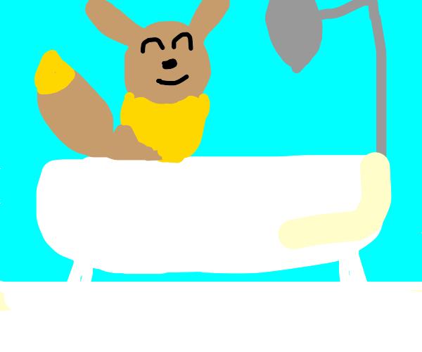 eevee bath