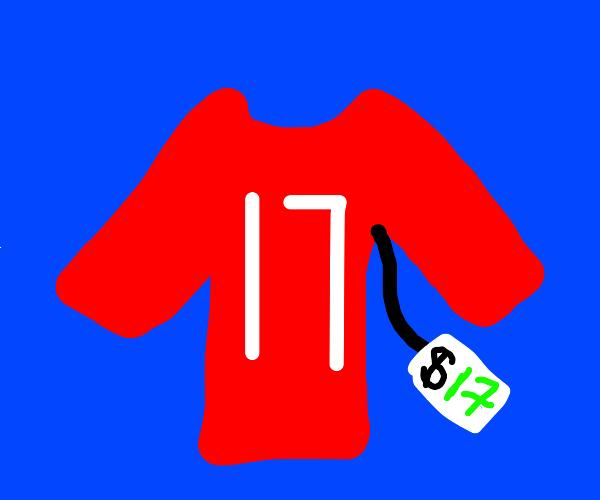Buying a shirt