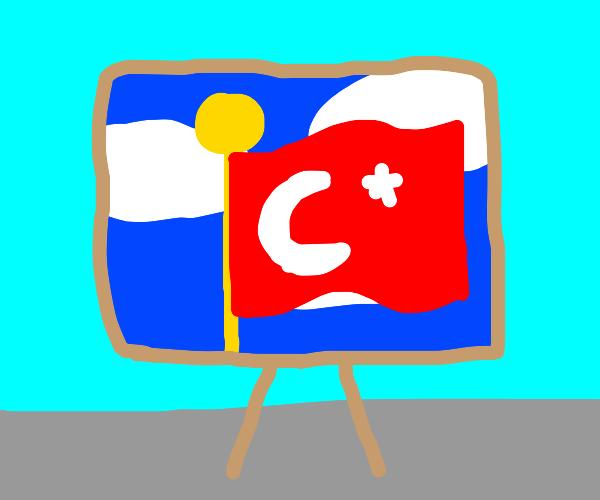 Turkey Artwork