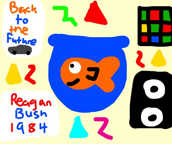 Retro Goldfish