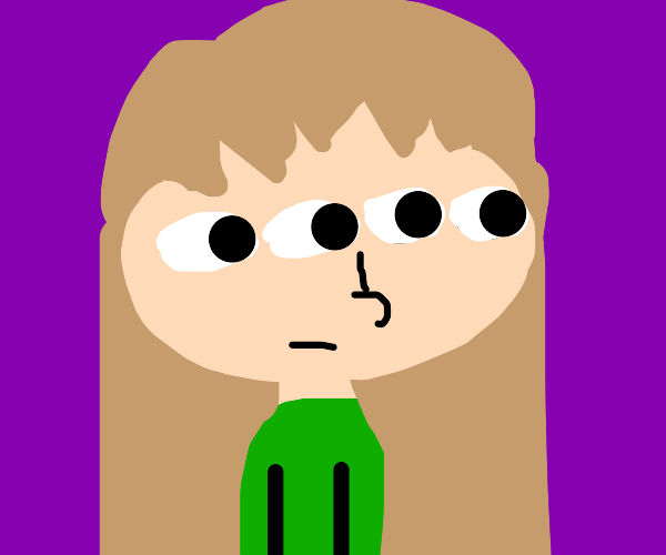 Four eyed girl