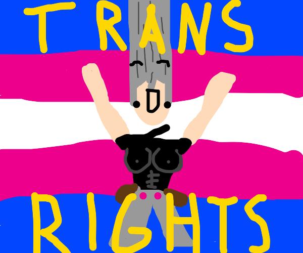 Jean Pierre Polnareff says trans rights