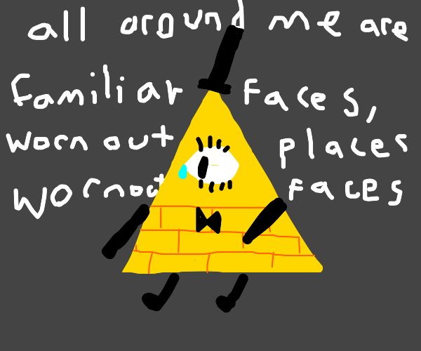 Bill Cypher is lonely